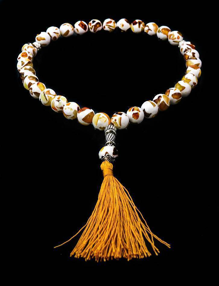 Islamic 33 Multicolor Amber Prayer Beads The Dalmatian, image , picture 2