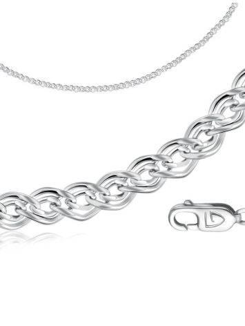 Silver Nonna Chain, Length: 45, image