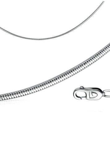 Sterling silver snake chain, Length: 45, image