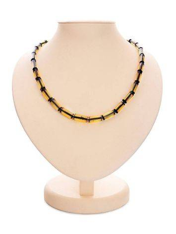 Faceted Green Amber Amber Necklace The Prague, image