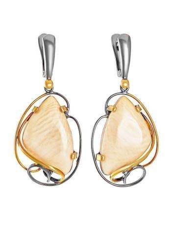 Bold Mammoth Tusk Earrings In Gold-Plated Silver The Era, image