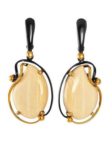 Mammoth Tusk Earrings In Gold-Plated Silver The Era, image