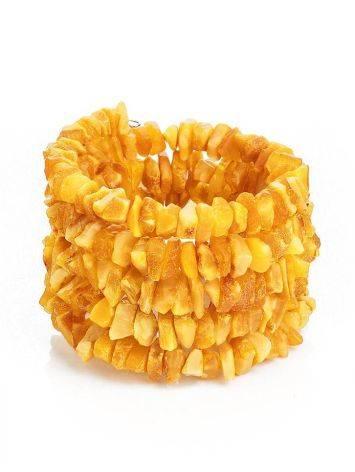 Raw Amber Wrap Bracelet, image