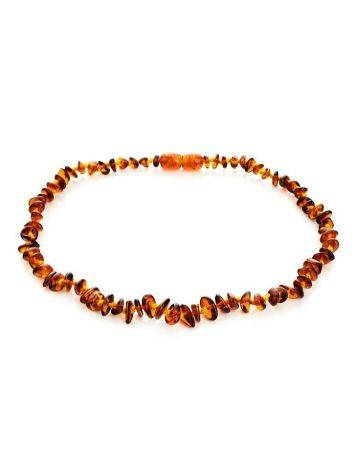 Cognac Amber Teething Necklace, image