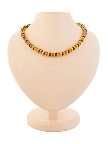 Multicolor Amber Beaded Necklace The Prague, image