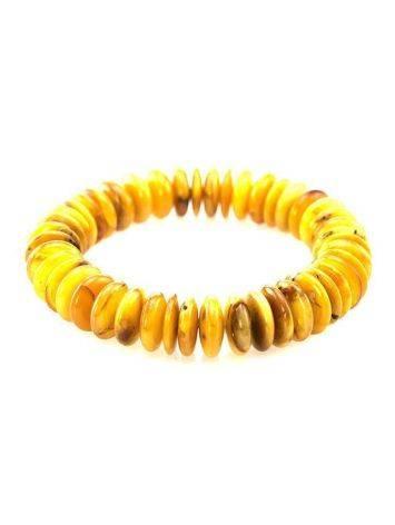 Textured Amber Designer Bracelet The Prague, image