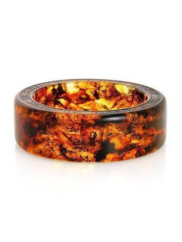 Amber Bangle Bracelet The Magma, image