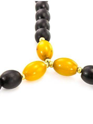 50 Olive Cut Amber Rosary The Cuba, image , picture 6