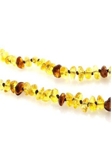 Natural Baltic Amber Teething Necklace, image , picture 3