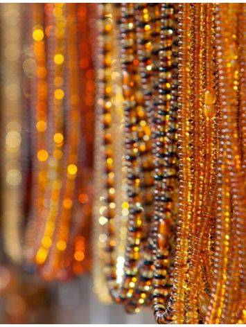 Multicolor Amber Beaded Necklace The Prague, image , picture 4