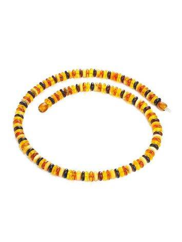 Multicolor Amber Beaded Necklace The Prague, image , picture 3