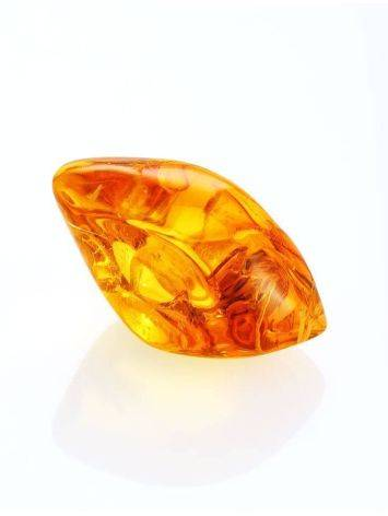 Glossy Amber Stone With Spider Inclusion, image , picture 5