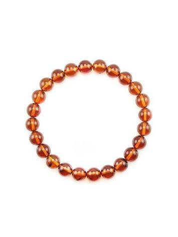 Simple Amber Elastic Bracelet, image , picture 3
