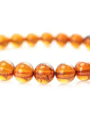 Simple Amber Elastic Bracelet, image , picture 2