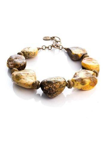 Raw Amber Designer Bracelet The Indonesia, image