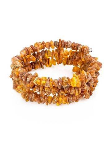 Natural Raw Amber Bracelet, image