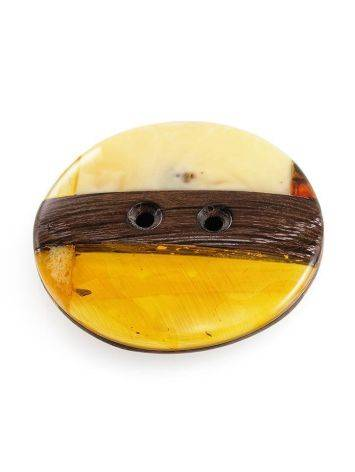 Decorative Amber Button With Wood The Indonesia, image , picture 3