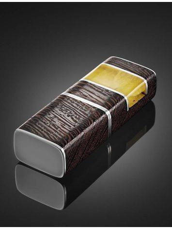 16 Gb Wenge Wood Flash Drive With Honey Amber The Indonesia, image , picture 2