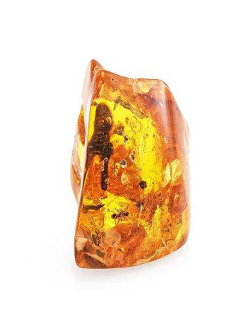 Natural Textured Amber Stone With Ant Inclusion, image , picture 5