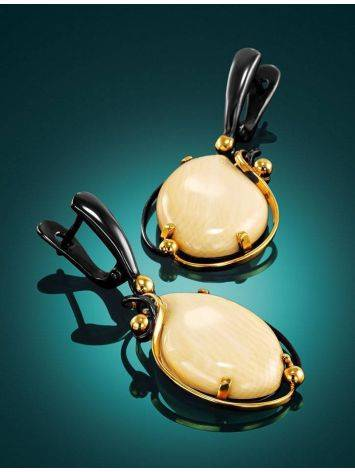 Mammoth Tusk Earrings In Gold-Plated Silver The Era, image , picture 2