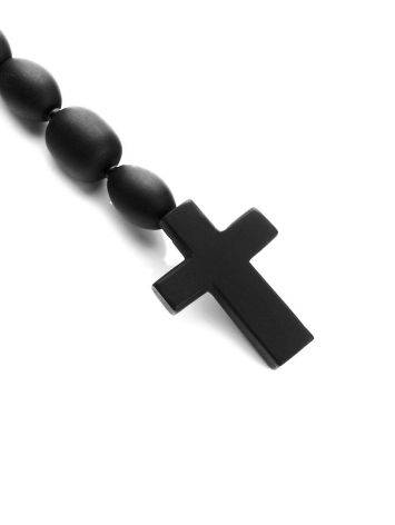 Olive Cut Black Amber Rosary The Cuba, image , picture 4