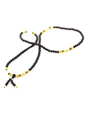Multicolor Amber Buddhist Prayer Beads The Cuba, image , picture 5