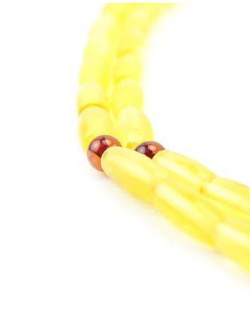 Honey Amber Buddhist Prayer Beads, image , picture 3