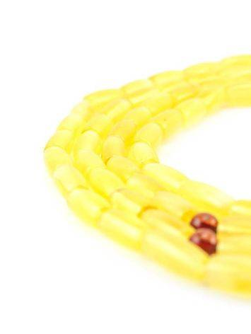 Honey Amber Buddhist Prayer Beads, image , picture 2