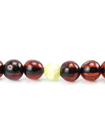 108 Cherry Amber Mala Beads With Dangle, image , picture 4