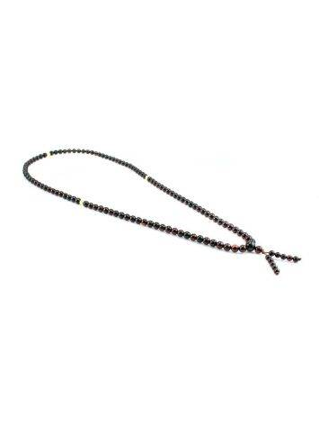 Cherry Amber Buddhist Prayer Beads, image , picture 5