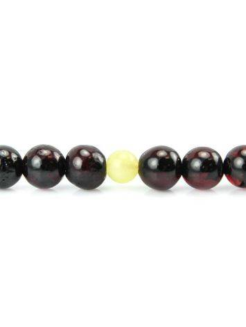 Cherry Amber Buddhist Prayer Beads, image , picture 3