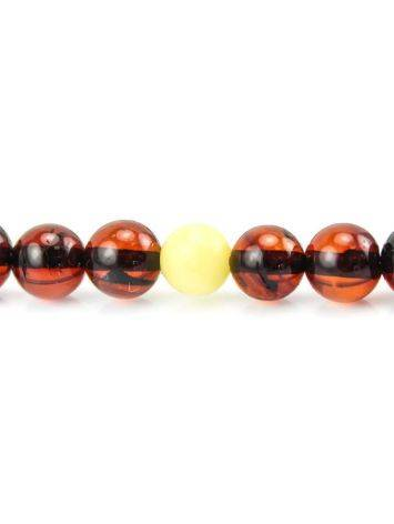 108 Cherry Amber Buddhist Prayer Beads With Dangle, image , picture 3