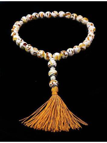 33 Amber Islamic Prayer Beads The Dalmatian, image , picture 2