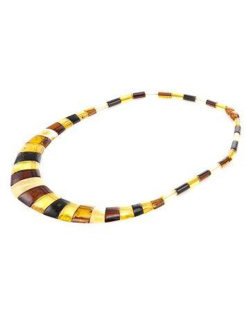 Multicolor Amber Necklace The Egypt, image , picture 3
