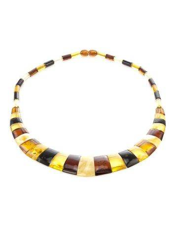 Multicolor Amber Necklace The Egypt, image , picture 4