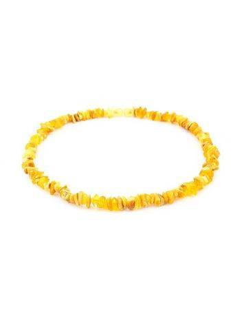 Unpolished Amber Beaded Necklace, image , picture 3