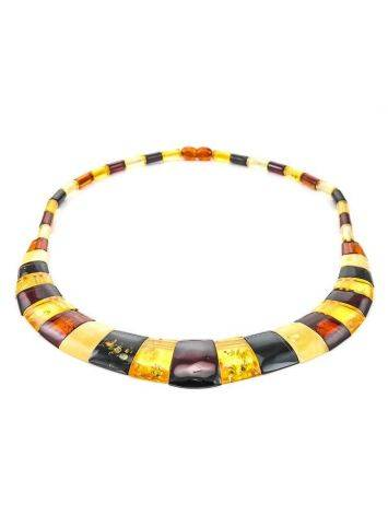 Multicolor Amber Necklace The Egypt, image , picture 6