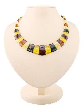 Multicolor Amber Necklace The Egypt, image