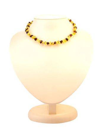 Two-Toned Amber Teething Necklace, image , picture 4