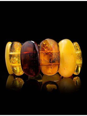 Stylish Amber Stretch Bracelet, image , picture 2