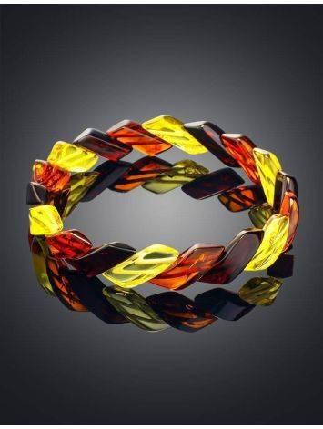 Multicolor Amber Bracelet, image , picture 2