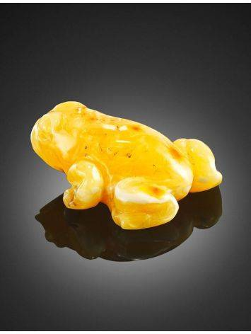 Carved Amber Frog, image , picture 4