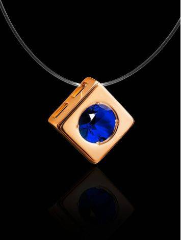 Invisible Necklace With Golden Pendant The Aurora, image , picture 2