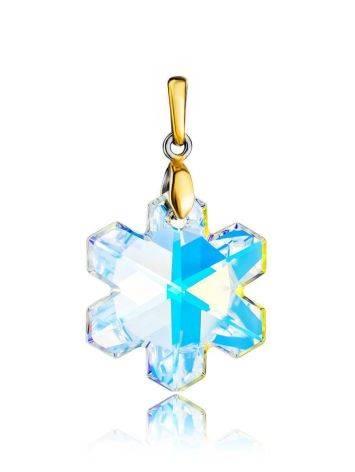 Crystal Snowflake Pendant The Fame, image