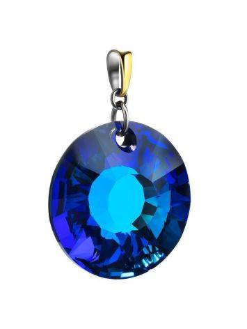 Bold Blue Crystal Pendant The Fame, image , picture 3