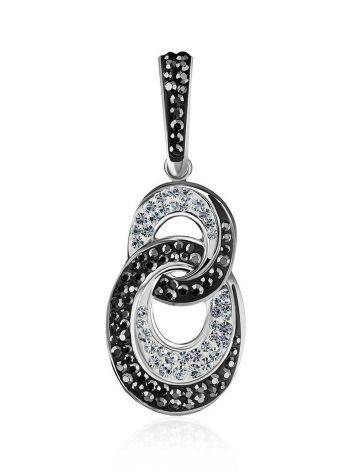Black And White Crystal Pendant The Eclat, image