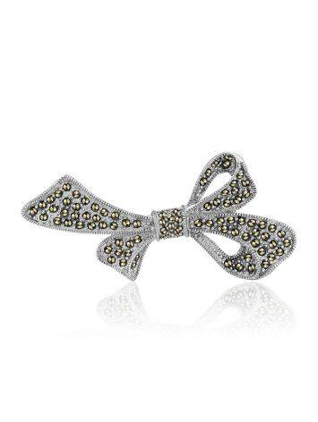 Sterling Silver Brooch With Marcasites The Lace, image