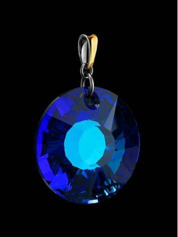Bold Blue Crystal Pendant The Fame, image , picture 2