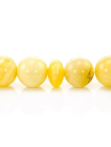 33 Honey Amber Muslim Prayer Beads With Tassel, image , picture 4