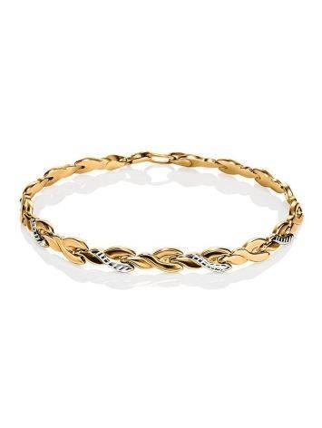 Classic Golden Link Bracelet, image